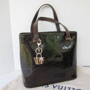 100% authentic LV Vernis dyed bag/Fall musthave!!
